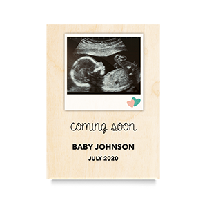 Coming Soon Newborn Print