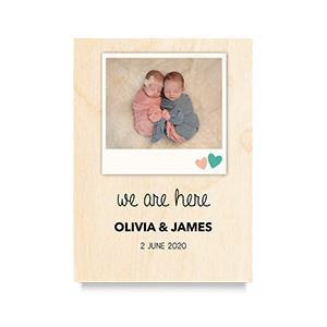 We are here Newborn Print 2