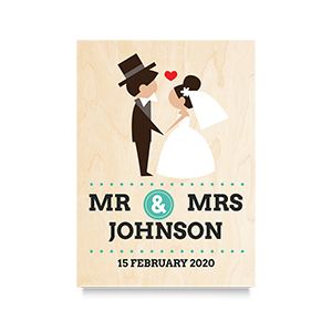 I do  (Mr & Mrs) Wedding Print
