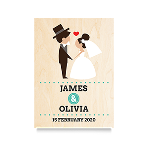 I do  (Names) Wedding Print