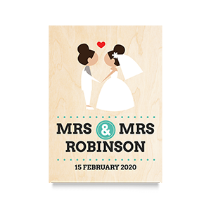 I do  (Mrs & Mrs) Wedding Print