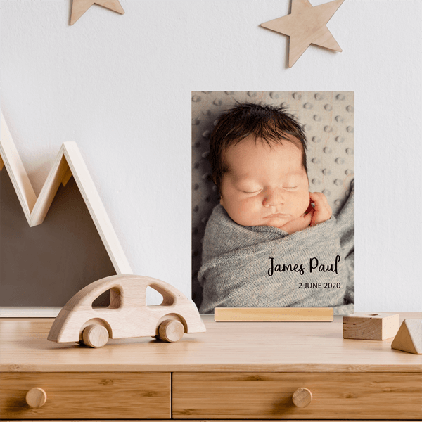 Wood Newborn Prints